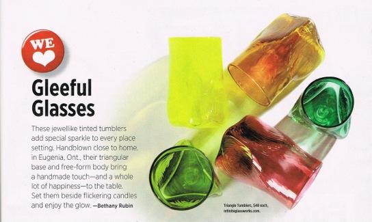 Feature in Fresh Juice Magazine